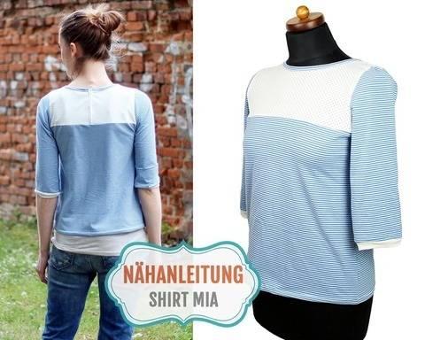 Shirt MIA nähen | 34–42 Nähanleitung & Schnittmuster bei Makerist sofort runterladen