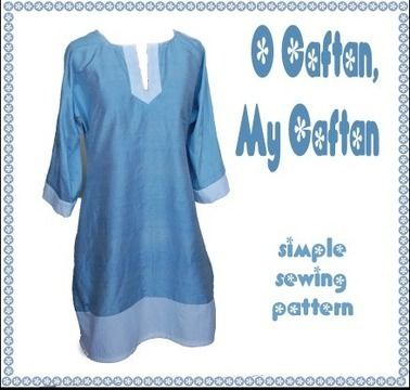 Download O Caftan, My Caftan - Simple, retro digital sewing pattern  - Sewing Patterns immediately at Makerist