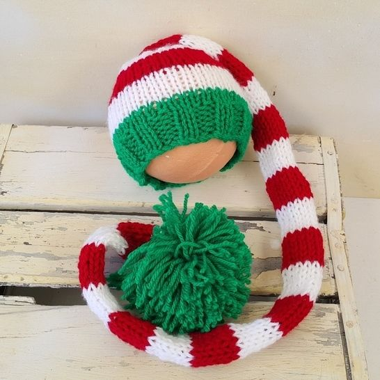 Download Baby Pixie hat - Knitting Patterns immediately at Makerist