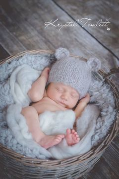 Download Baby Bear Beanie - Knitting Patterns immediately at Makerist