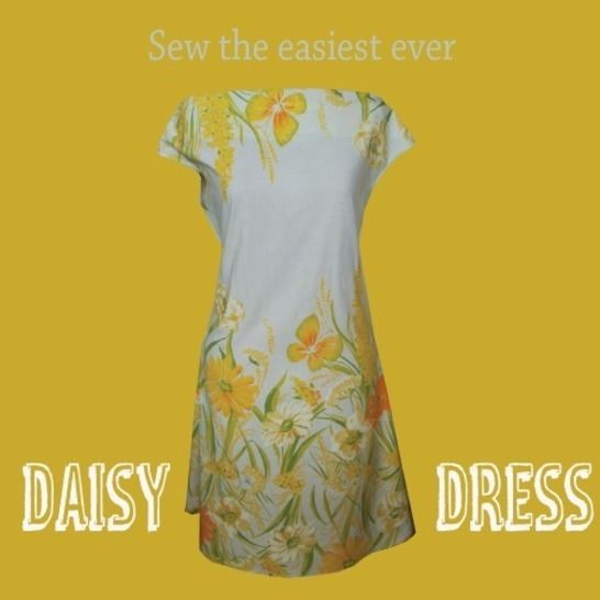 Download Daisy Dress - simple to sew summer dress pdf pattern - Sewing Patterns immediately at Makerist