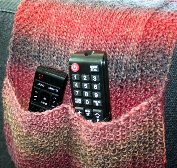 Download Remote Control Caddy - Knitting Patterns immediately at Makerist