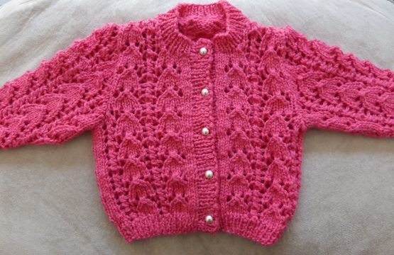 Download Babies 8ply lacy jacket - PDF knitting pattern - Jasmine - Knitting Patterns immediately at Makerist