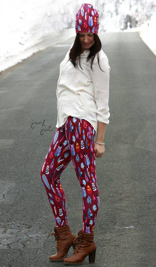 Download eBook Stelzenhülle Leggings, tights and/or socks - Sewing Patterns immediately at Makerist