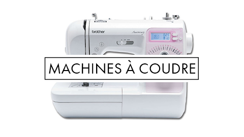 Machines à coudre, surjeteuses et coverlocks !