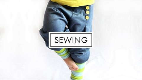 Sewing Patterns & Tutorials!