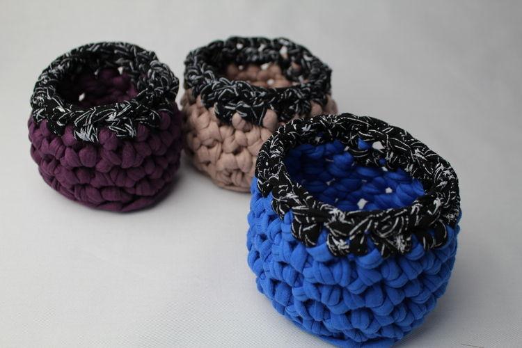 Makerist - Kleine Häkelkörbchen - Häkelprojekte - 1