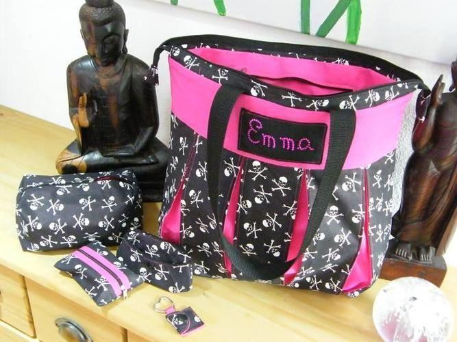 Makerist - Meine Taschen mit Kellerfalten für eine kleine Freundin - Nähprojekte - 1