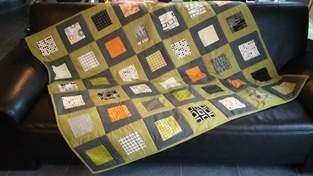 Makerist - Decke aus Precuts - 1