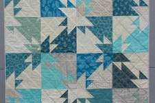 Makerist - Triangle Challenge Babyquilt - 1