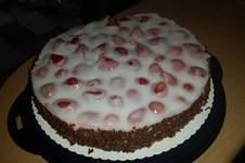 Makerist - Erdbeer-Malibu-Kuchen - 1