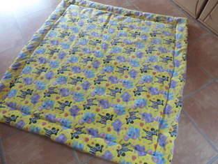 Makerist - Kuschel-Fleece-Krabbel-Decke aus Kuschelfleece und Volumenvlies - 1