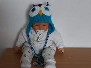 Makerist - Kinder-Eulen-Mütze - 1