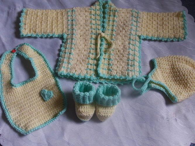 Makerist - Baby-Ausfahr-Garnitur - Häkelprojekte - 1