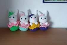 Makerist - gehäkelte Häschen-Cupcakes - 1