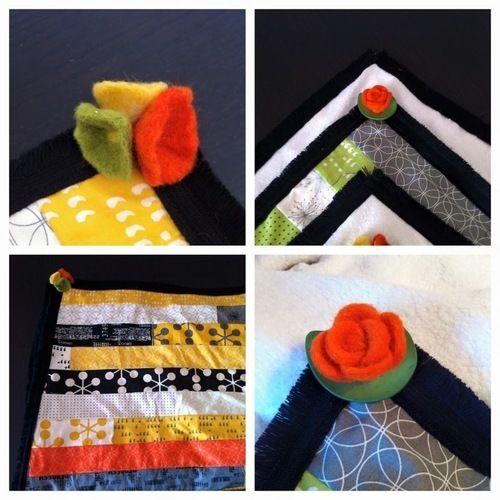 Makerist - Patchworkdecken mit Liebevoll ausgesuchten Accessoires  - Patchwork-Projekte - 1