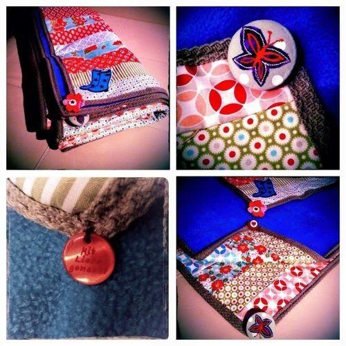 Makerist - Patchworkdecken mit Liebevoll ausgesuchten Accessoires  - Patchwork-Projekte - 2