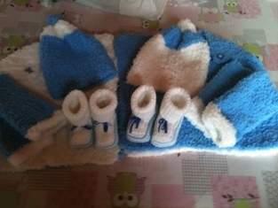 Makerist - habits doudous pour tenir chaud au bébés pour une naissances de petits jumeaux  - 1