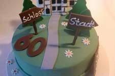Makerist - Geburtstagstorte - die Torte stellt gleichzeitig das Geschenk dar - 1