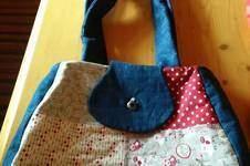 Makerist - meine 1. genähte Tasche. Sie ist für mich selbst gemacht und ich liebe sie. - 1