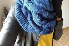 Makerist - Enorme snood - 1