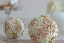 Makerist - Blütenkugeln mit Filzblumen - 1