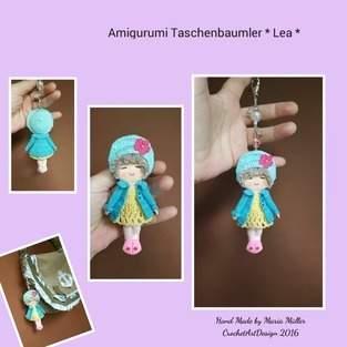 """Makerist - Amigurumi Taschenbaumler """" LEA """" - 1"""