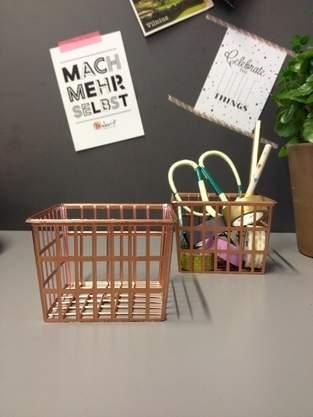 Makerist - Drahtkorb // Upcycling - 1