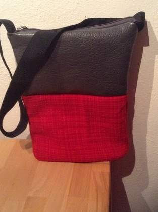 Makerist - Tasche aus Materialmix - 1
