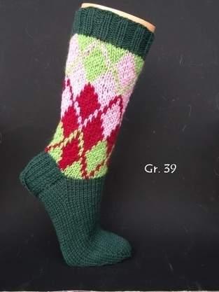 Makerist - Socken im schottischen Karolook - 1