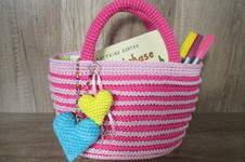 Makerist - Zuckersüßer Mini-Shopper für kleine Mädels - 1