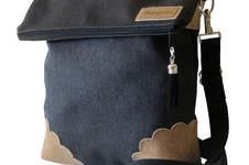 Makerist -  Design Award Kork: Klassische Umhängetasche für jeden Tag mit Korkecken - 1