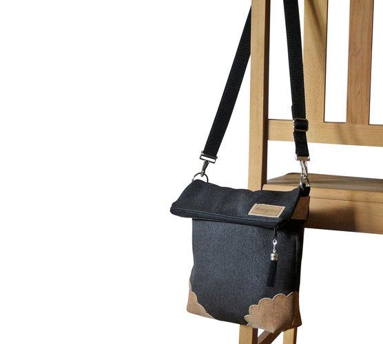 Makerist -  Design Award Kork: Klassische Umhängetasche für jeden Tag mit Korkecken - Nähprojekte - 2