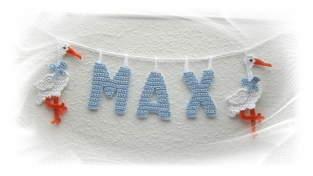 Makerist - Girlande mit Namen fürs Kinderzimmer - 1
