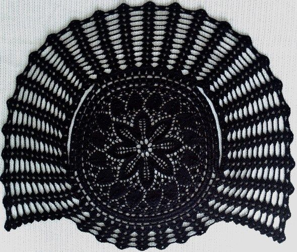 Makerist - kreisBOLERO black lace - Strickprojekte - 3