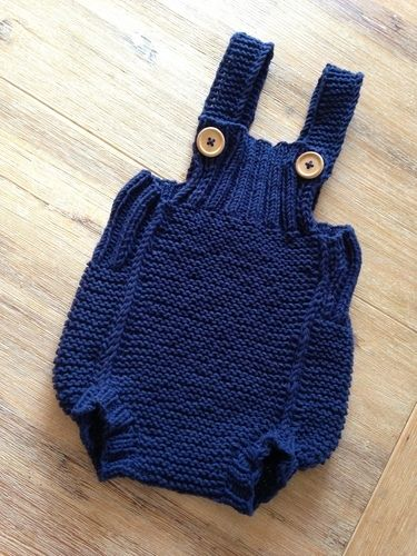 Makerist - Baby Romper  - Strickprojekte - 1