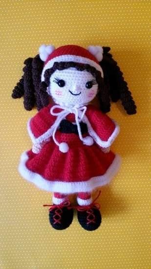 Makerist - Amigurumi Puppe Nikolinchen - 1