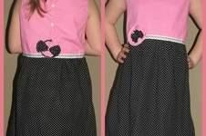 Makerist - Knoopkleed aus Baumwollstofff für meine Tochter - 1