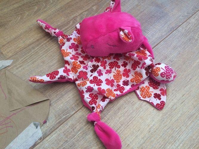 Makerist - Ein kleiner Glücks-HippoDrache - Nähprojekte - 2