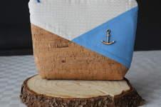 Makerist - Design Kork Award: Korktastische Kosmetiktasche Ahoi - 1