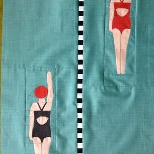 Makerist - Die Schwimmerin - Endlich fertig :) - 1
