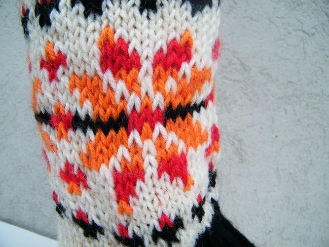 Makerist - Socken mit Norwegerstern für Gr. 39/40 - Strickprojekte - 3