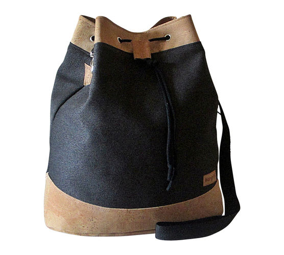Makerist - Design Award Kork: Drawstring Bag mit Korkleder - Nähprojekte - 1