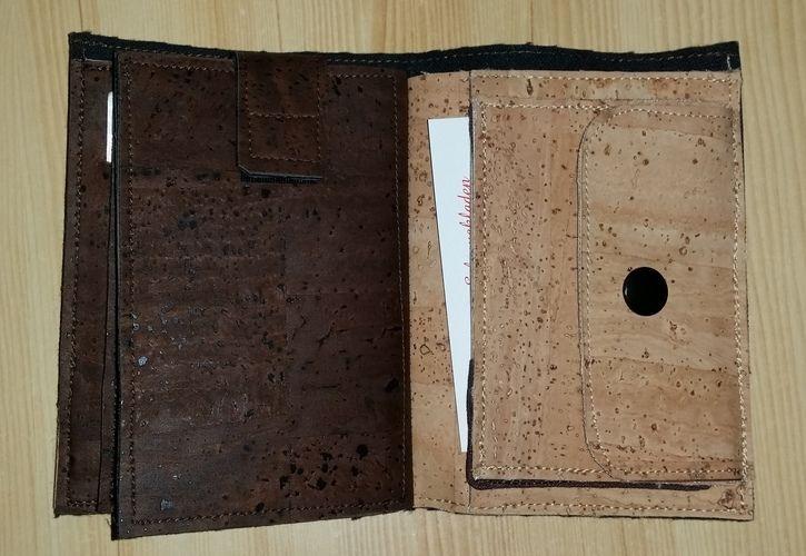 Makerist - Geldbeutel aus Kork - Nähprojekte - 2