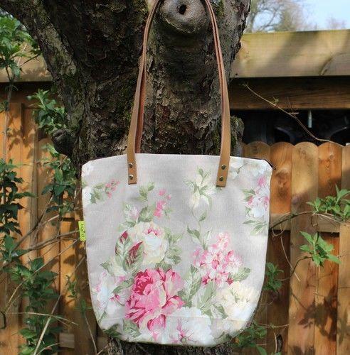 Makerist - Tasche mit Lederriemen - Nähprojekte - 1