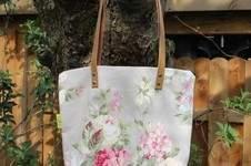 Makerist - Tasche mit Lederriemen - 1