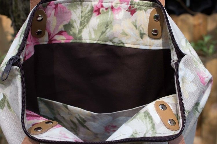 Makerist - Tasche mit Lederriemen - Nähprojekte - 2
