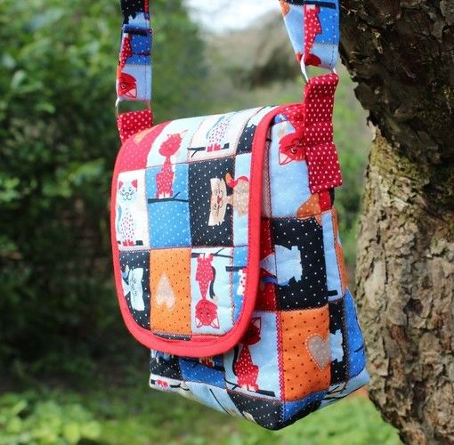 "Makerist - Süße Kindertasche ""Kätzchen"" - Nähprojekte - 2"