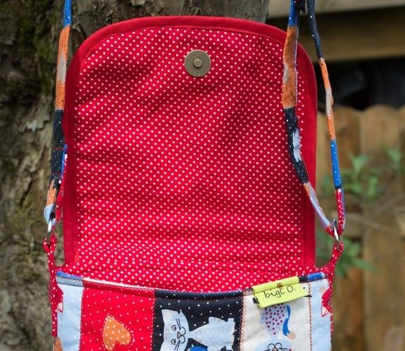 "Makerist - Süße Kindertasche ""Kätzchen"" - Nähprojekte - 3"