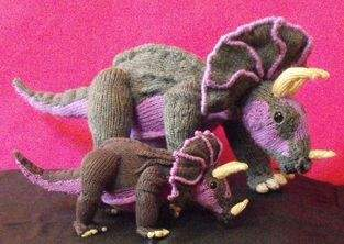 Makerist - Tracy Triceratops and Baby - 1